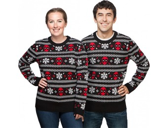 60% off Deadpool & Snowflakes Holiday Sweater