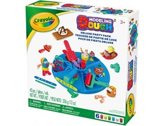 53% off Crayola Modeling Dough Deluxe Party Pack