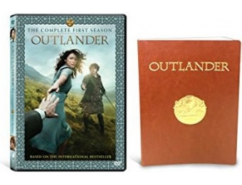 53% off Outlander Season One (DVD) with Gift