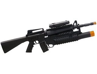 74% off M16A1 Rifle / M203 Grenade Launcher Mini Airsoft Gun