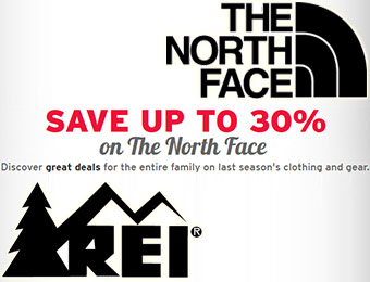 30% off The North Face