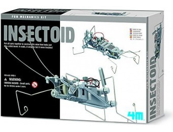 67% off 4M Insectoid Robot Science Kit