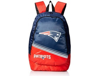 88% off New England Patriots 2015 Stripe Core Backpack