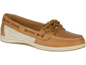 56% off Sperry Women's Firefish Leather Boat Shoes