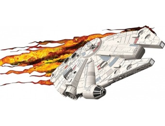68% off Star Wars 3D Deco Lights Millennium Falcon