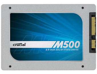 $64 off Crucial M500 240GB Solid State Drive #CT240M500SSD1