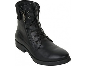 67% off Liberty Men's Leather Lace Up Zipper Winter Boots