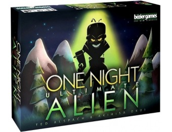44% off One Night Ultimate Alien Board Game