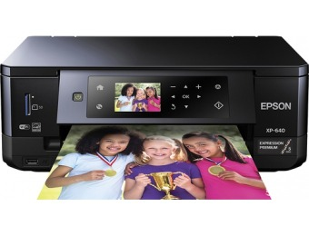 $100 off Epson Expression Premium XP-640 Small-in-One Printer
