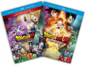 50% off Dragon Ball Z Theatrical 2-Pack Gift Set Blu-ray/DVD