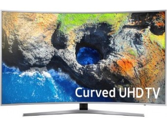 $350 off Samsung MU7500 Curved 4K UHD TV