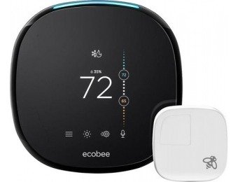 $50 off ecobee4 Wi-Fi Thermostat with Room Sensor and Alexa