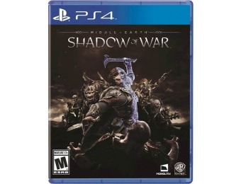 87% off Middle-Earth: Shadow of War - PlayStation 4