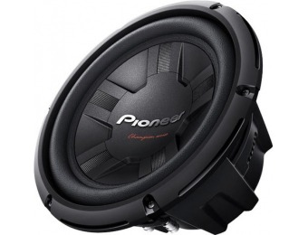 "50% off Pioneer Champion 10"" Single-Voice-Coil 4-Ohm Subwoofer"