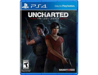 50% off Uncharted: The Lost Legacy - PlayStation 4