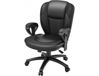 $110 off Z-Line Designs Bonded Leather Desk Chair