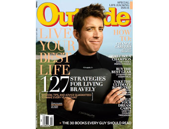 $42 off Outside Magazine Subscription, $4.99 / 12 Issues