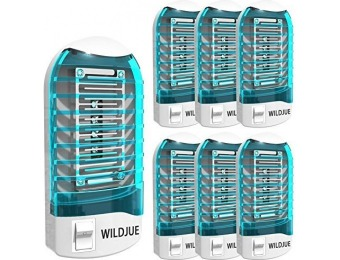 89% off WILDJUE [6-Pack] Bug Zapper Electronic Mosquito Killer