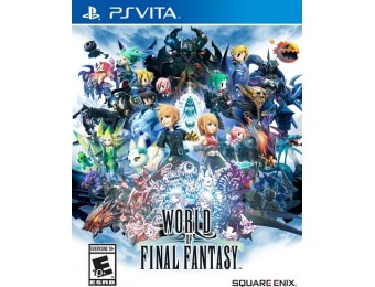 82% off World of Final Fantasy - PlayStation 4