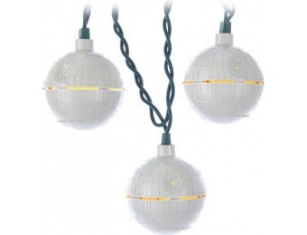 80% off Star Wars Death Star String Lights