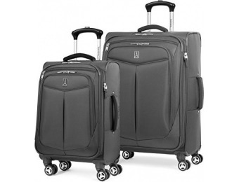 $380 off Travelpro Inflight 2 Piece Spinner Luggage Set