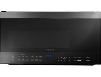 $170 off Insignia 1.6 Cu. Ft. Over-the-Range Microwave