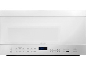 $120 off Insignia 1.6 Cu. Ft. Over-the-Range Microwave