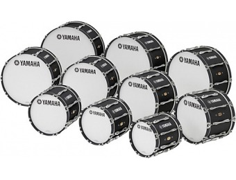 44% off Yamaha 14 X 14 8300 Series Field-Corps Marching Bass Drum