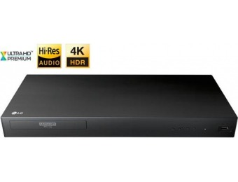 $120 off LG UP875 4K Ultra HD 3D Blu-ray Player