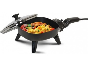"69% off Elite Cuisine EFS-400 Maxi-Matic 7"" Non-Stick Electric Skillet"
