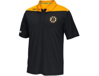 85% off Boston Bruins Adult Statement Polo