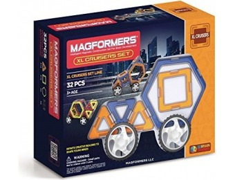 53% off Magformers XL Cruisers Set (32-pieces)