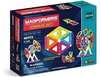 52% off Magformers Creator Carnival Set (46-pieces)