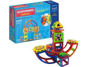 52% off Magformers Magnets in Motion Set (61-pieces)