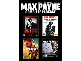 $75 off Max Payne Complete Pack Download w/ Rockstar Pass