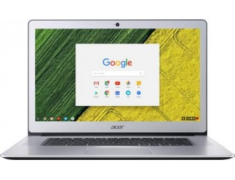 "$101 off Acer 15.6"" Touch-Screen Chromebook"