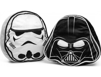 60% off Star Wars Darth Vader & Stormtrooper Throw Pillow Set