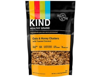 77% off Oats Honey Clusters With Toasted Coconut