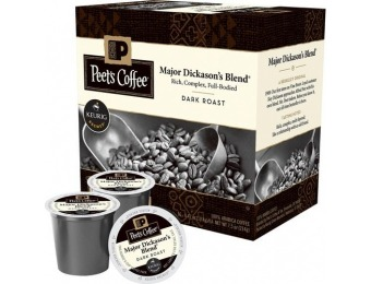 38% off Keurig Peet's Major Dickenson's 16ct K-Cups