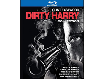 54% off Dirty Harry Collection (5 Discs) on Blu-ray