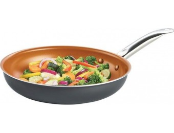 "63% off Bella 2-Piece Cookware Set: 10"" and 12"" Fry Pans"