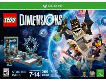 70% off LEGO Dimensions Starter Pack - Xbox One
