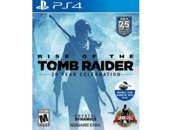 58% off Rise of the Tomb Raider: 20 Year Celebration - PlayStation 4