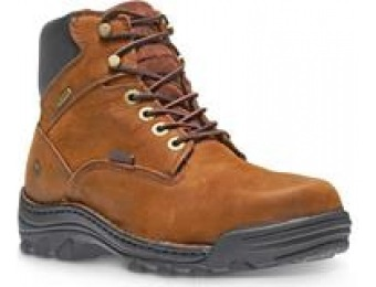 "50% off Wolverine Men's Durbin 6"" Waterproof Work Boots"