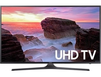 $270 off Samsung 50 Inch 4K Ultra HD Smart TV UN50MU6300F