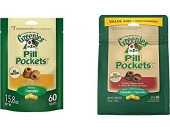 61% off Greenies Pill Pockets Dog Treats Bundle