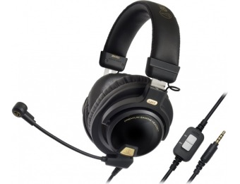 $50 off Audio-Technica ATH Premium Stereo Gaming Headset
