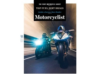 92% off Motorcyclist Magazine - 1 year auto-renewal