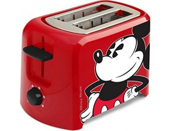 75% off Disney DCM-21 Mickey Mouse 2 Slice Toaster