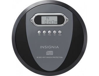 48% off Insignia Portable CD Player